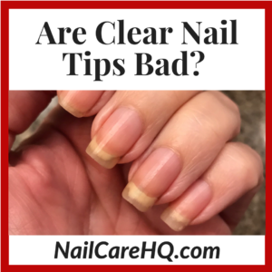 Clear iodine for fingernails