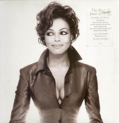 Janet jackson design of a decade album cover