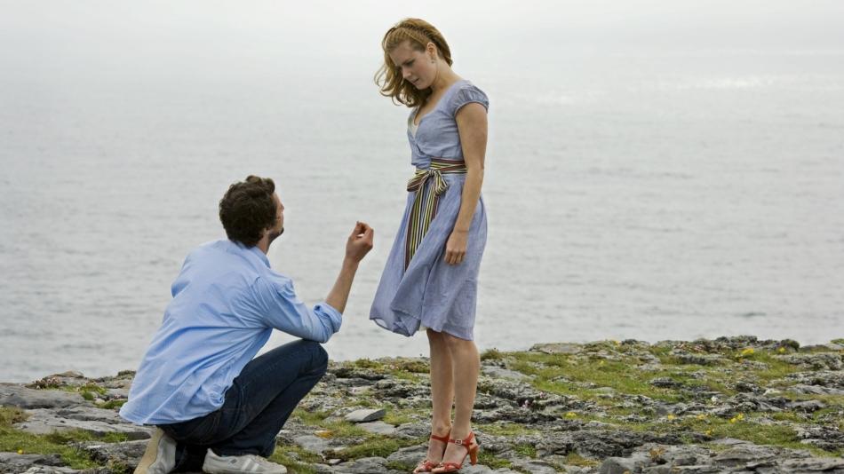 Предложение выйти замуж на берегу моря