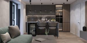 Дизайн интерьера квартиры для парня Черкассы