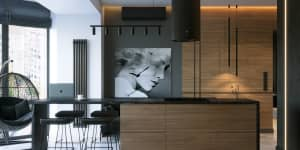 дизайн квартиры для мужчины