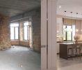 Дизайн интерьера коттеджа. Фото до и после