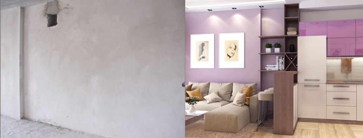 Дизайн интерьера квартиры Черкассы фото до и после