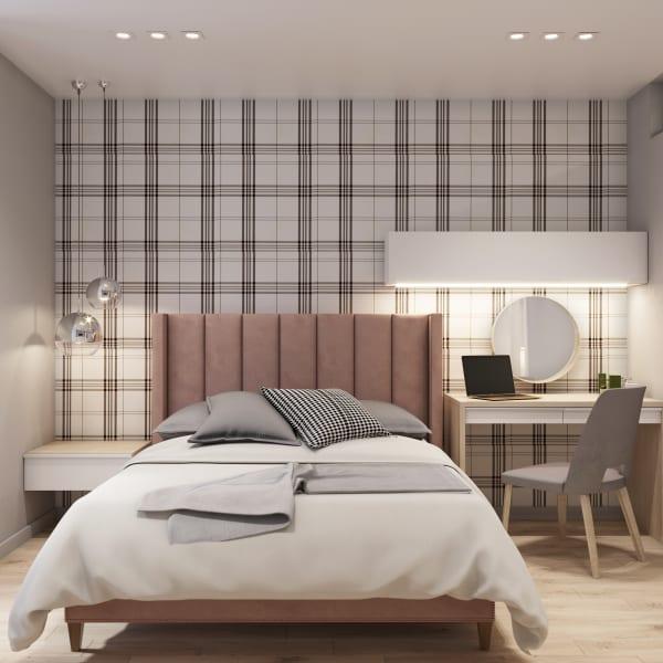Удаленное проектирование интерьеров спальня фото