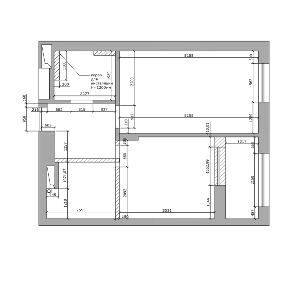 Дизайн smart квартиры в Киеве план