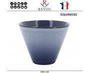 Емкость EQUINOXE для запекания и подачи порционная, D 10.5 см, H 8 см, синий, REVOL, Франция