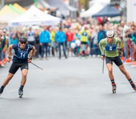 The 100 Meter Roller Skiing Sprint is back! Next Friady, 23rd of July will the sprint spectacle take place in @davosklosters . Finals will start at 18:45 next to @postliclubwho is in?#davosnordic #davosklosters #sportsunlimited