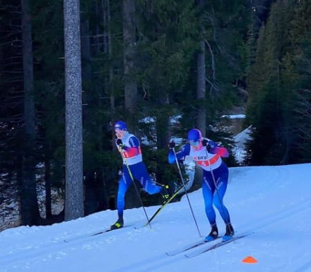 Sprint-Test-Race on the snowfarming loop today.👊💥 The season start is defenitely coming closer 🤩#benordic #sprint #crosscountryskiing ..#davosnordic #davosklosters#sportsunlimited #fiscrosscountry #crosscountryskiing #swisscrosscountryteam #teamBKW #GemeinsamUmdenken #GemeinsamUmschalten #graubünden #audiswitzerland #Gruyere AOP #Helvetia