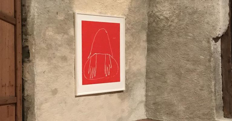 Andrea Büttner_Ausstellung Galerie Tschudi Winter 18