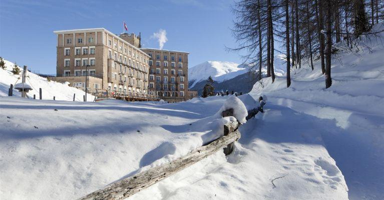Castell im Winter