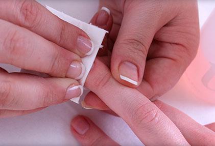 Чем обезжирить ногти перед гель лаком