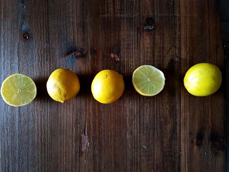 Torta al limone - limoni