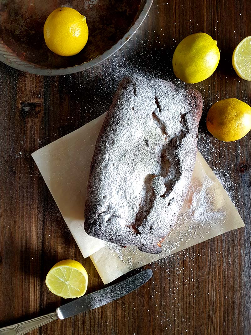 Torta al limone - ricetta