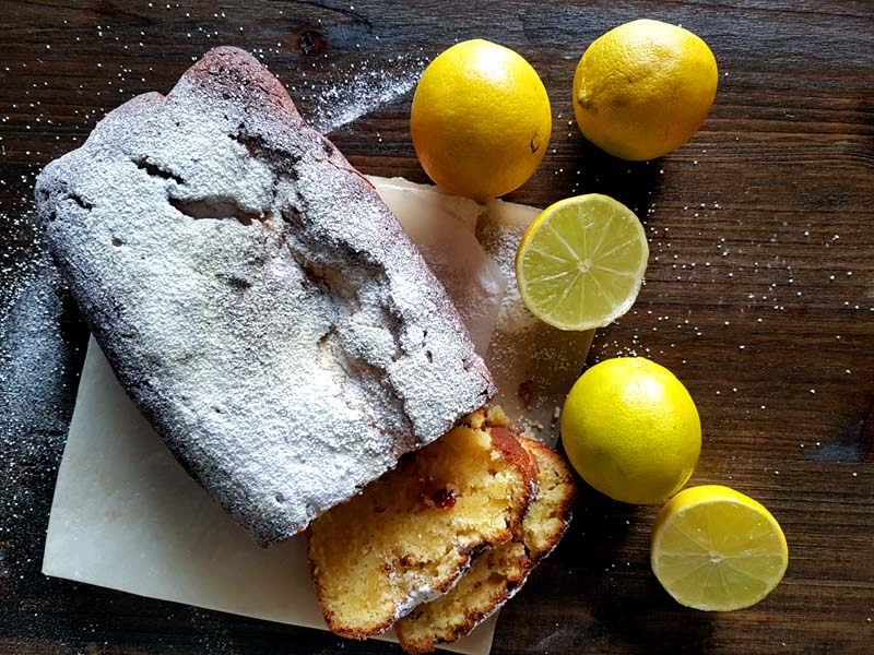 Torta al limone - ingredienti
