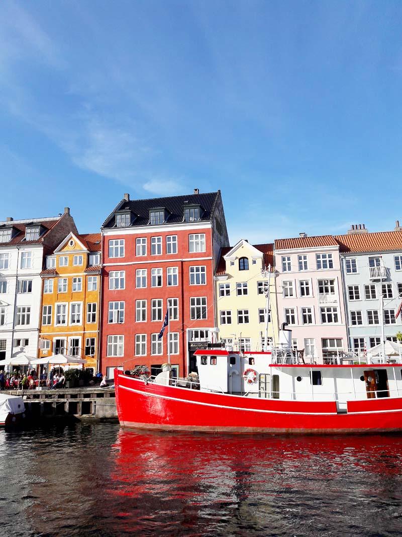 Visitare Copenhagen nyhaven