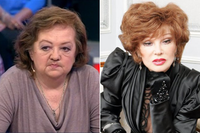 Мария Королева и Людмила Гурченко