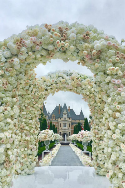 Организацией свадьбы занимались лучшие специалисты Москвы