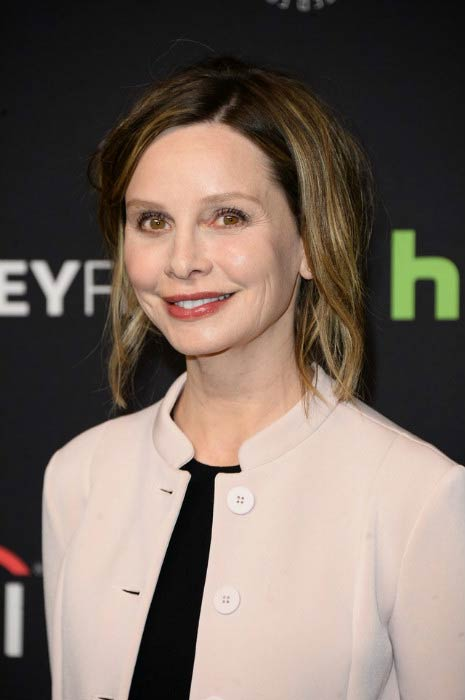 How much does calista flockhart weight
