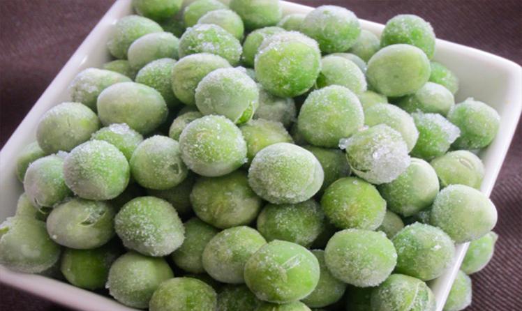 Сколько варится зеленый горошек замороженный