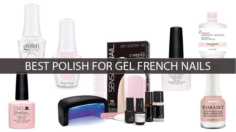 French polished nails