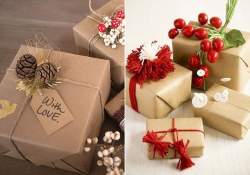 Как упаковать подарки красиво