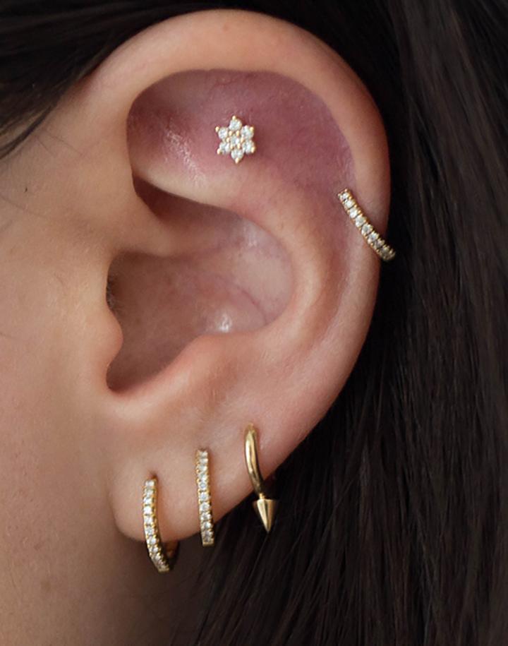 Обработка ушей после прокалывания