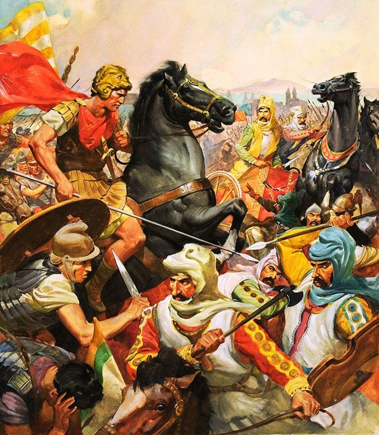 Македонский александр битвы