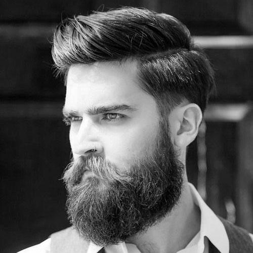 Short Haircuts For Thick Hair and Beard