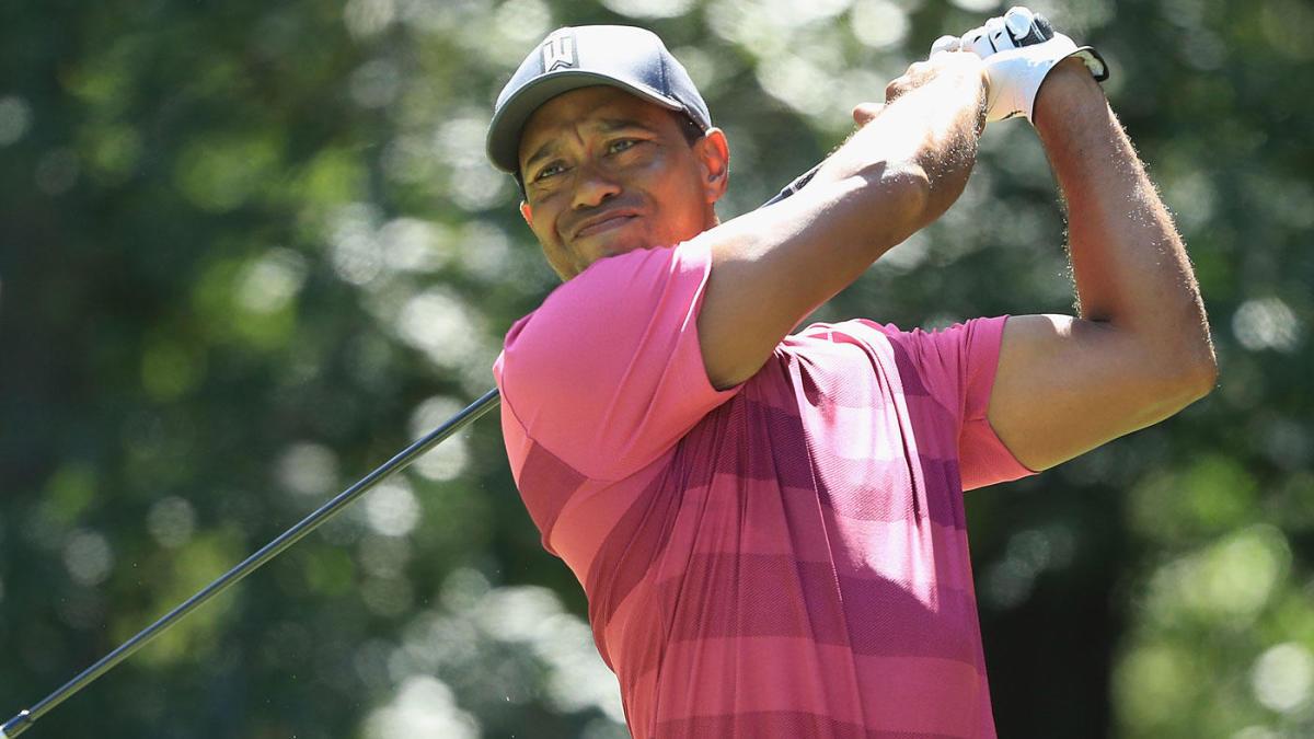 Tiger woods scoring average