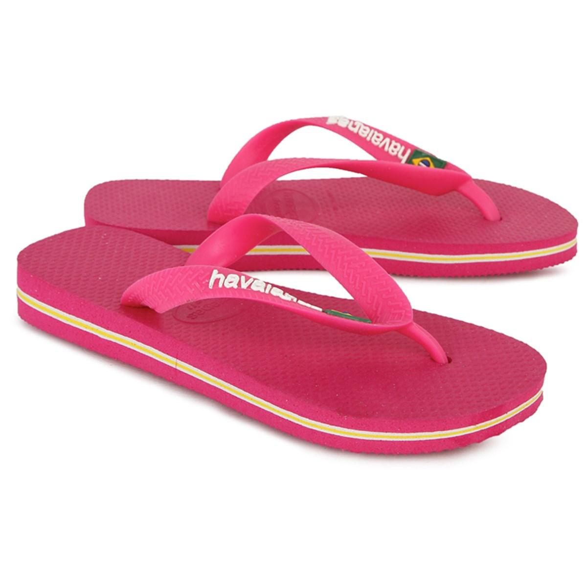 Pink brazil havaianas