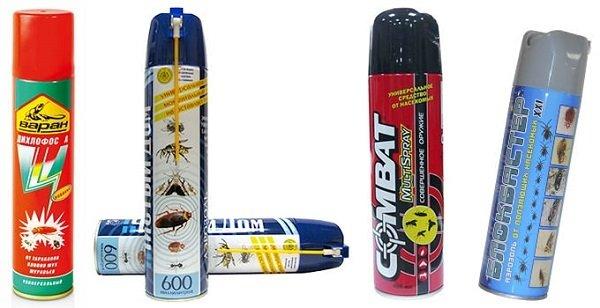 Аэрозольные препараты против муравьев