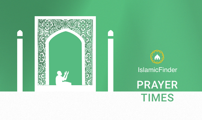 Prayer times ajman