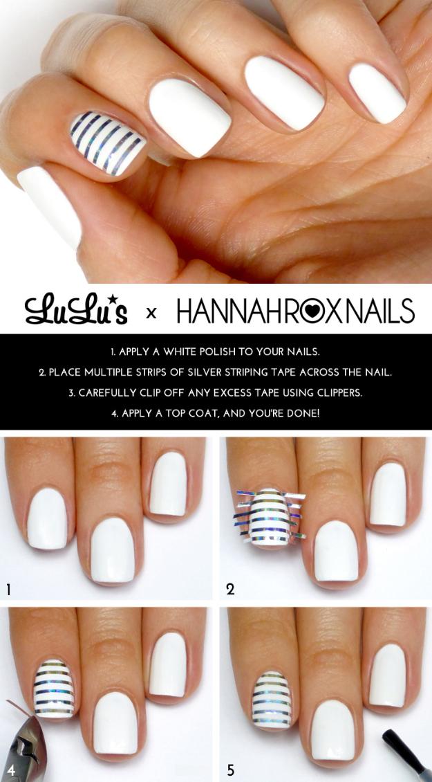 Designing nails at home