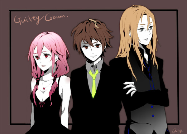 GUILTY CROWN drawn By Chelly.