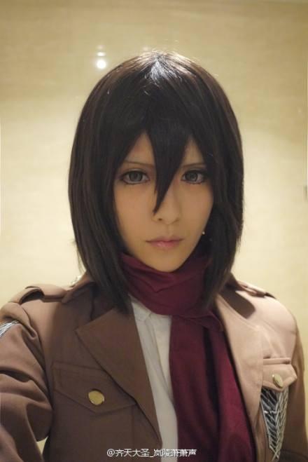 岚陵萧萧声 as Mikasa Ackerman