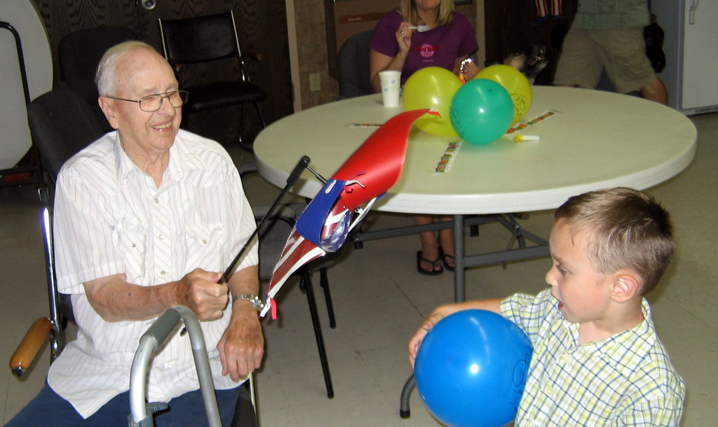Grandpa Elmer & Toby