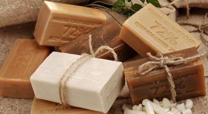 Мыльный раствор из хозяйственного мыла