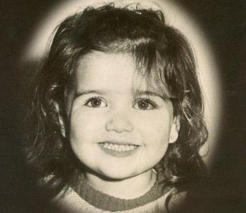 Наташа Орейро в детстве
