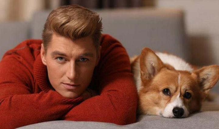 Фото алексея воробьева и его собаки