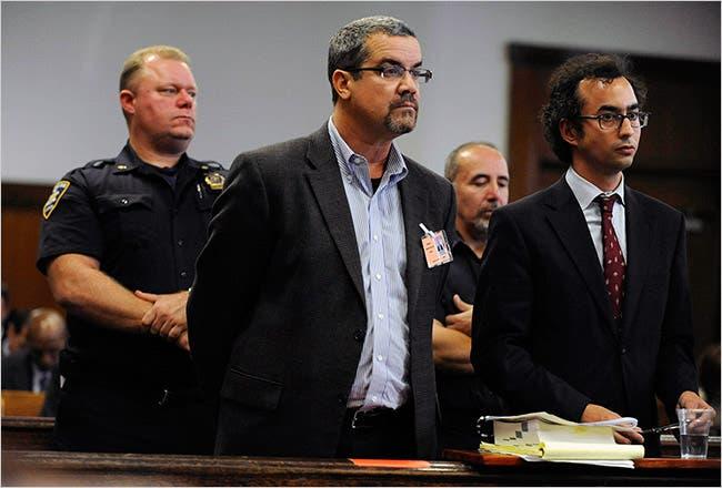 Robert Joel Halderman was arraigned in New York Supreme Court on Friday.