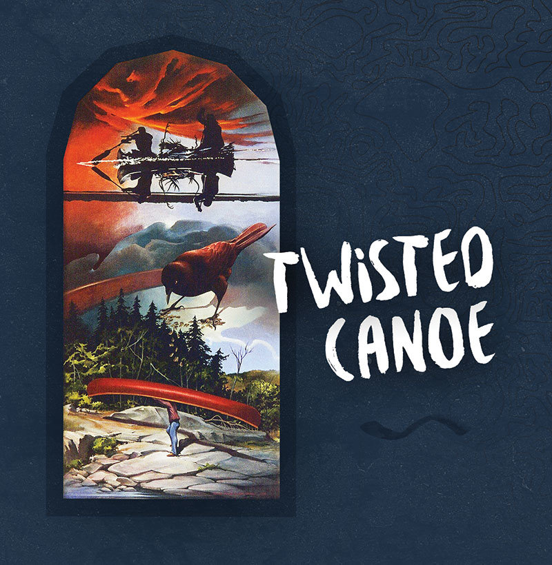 Twisted Canoe album cover