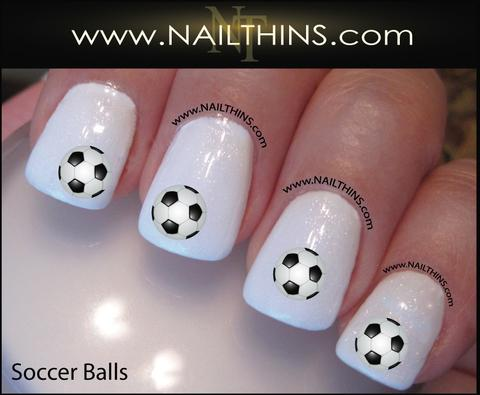 Nails in balls