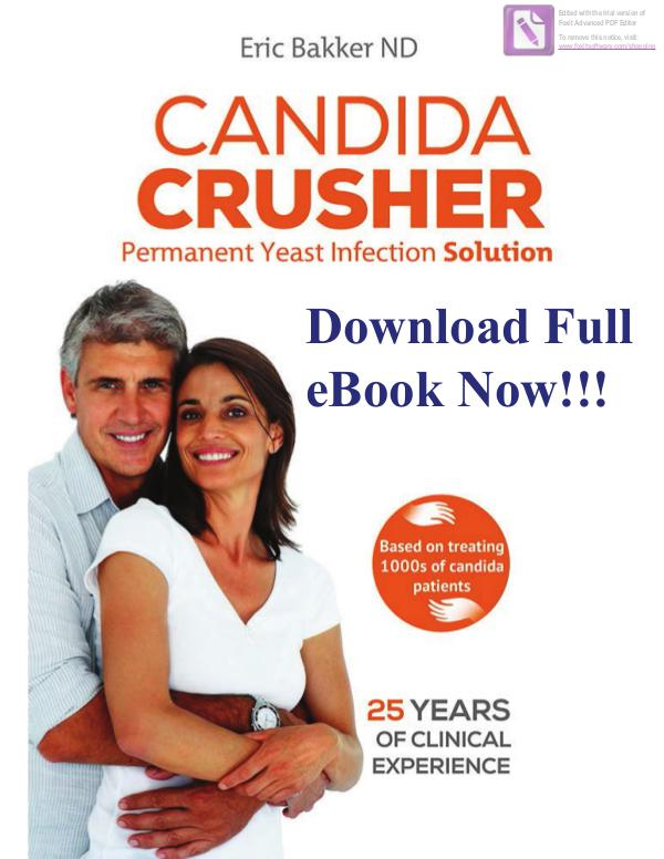 Candida crusher diet