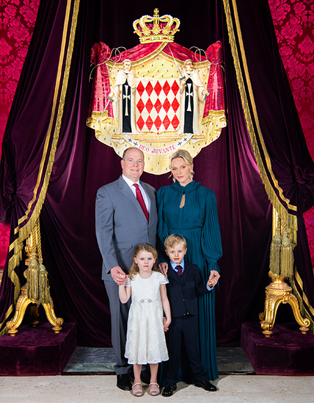 Князь монако альберт дети