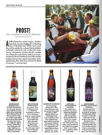 German Beers Oktoberfest