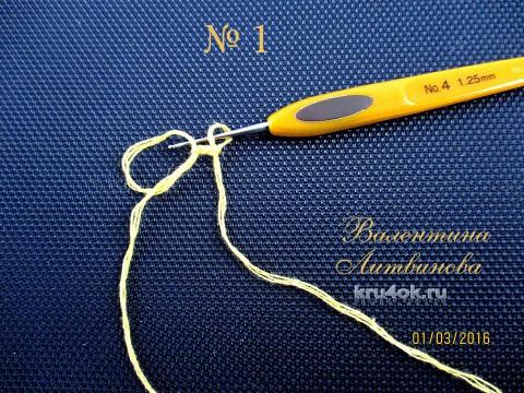 Мастер-класс по вязанию крючком детской ажурной шапочки