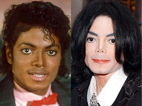 Майкл джексон изменение внешности