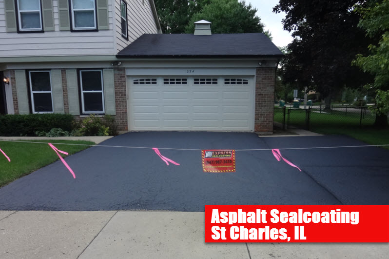 Sealcoating st charles il