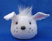 Dog Head Sock Doll