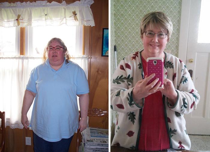 44. Из 121 кг в 96 кг за год